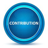 Contribution Eyeball Blue Round Button vector illustration