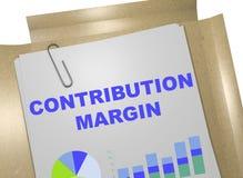 Contribution Margin concept Stock Photo