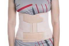 Contributo della parte posteriore del primo piano alla parte posteriore del muscolo Immagini Stock