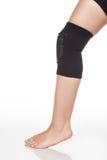 Contributo ortopedico al ginocchio Fotografie Stock Libere da Diritti