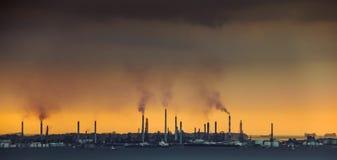 Contributore chiave ad inquinamento atmosferico immagini stock