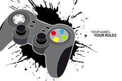 Contrôleur de PC ou de console Images libres de droits