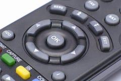 Contro del telecontrol de la TV Fotografía de archivo