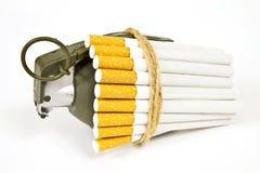 Contro il fumo Fotografia Stock Libera da Diritti