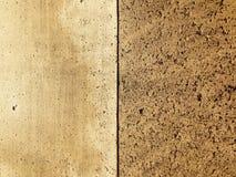 Contro il grano Fotografia Stock