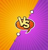 Contro Logo Background Vettore illustrazione di stock