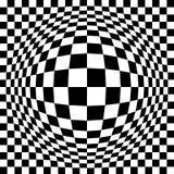 Control óptico ampliado ilustración del vector