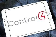 Control4 λογότυπο επιχείρησης τεχνολογίας Στοκ Εικόνες