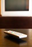 Control alejado de la TV Imagen de archivo libre de regalías