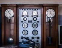 Control antiguo industrial Fotografía de archivo libre de regalías