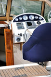 Control area of boat Stock Image