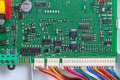 Control board view from the top Royalty Free Stock Photography