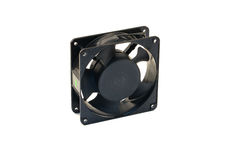 Control box fan Stock Images