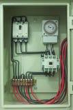 Control box stock photo