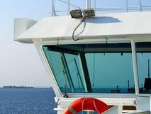 Control bridge of a ship Stock Images