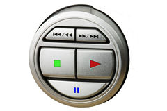 Control button Royalty Free Stock Images