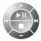Control Buttons. Vector illustration of remote control buttons Royalty Free Illustration