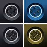 Control buttons Royalty Free Stock Images