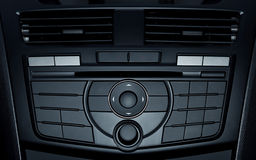 Control buttons in modern car Stock Photo