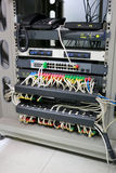 Control cabinet network system. Stock Images