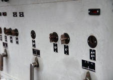 The control cabinet Royalty Free Stock Images