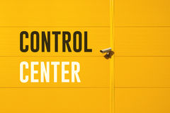 Control Center Fotos de archivo libres de regalías