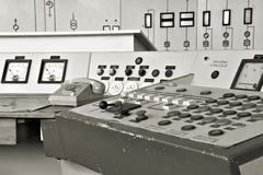 Control center in Ferropolis stock images