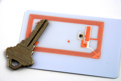 Control de acceso usando rfid Imagenes de archivo