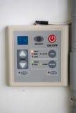 Control de aire Imágenes de archivo libres de regalías