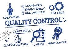 Control de calidad Fotografía de archivo libre de regalías