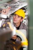 Control de calidad industrial Foto de archivo libre de regalías