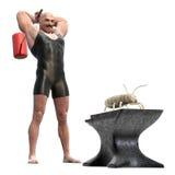 Control de la termita Imagenes de archivo