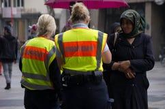 Control de policía Imagen de archivo libre de regalías