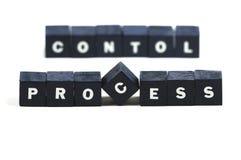 Control de proceso Fotos de archivo