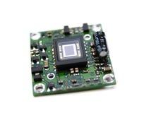 Control de sensor video del minichamber digital Imágenes de archivo libres de regalías