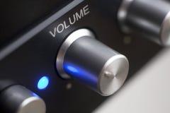 Control de volumen Imagen de archivo