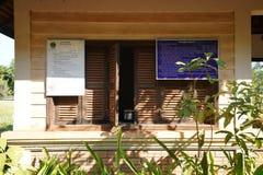 Control del boleto de Banteay Srei en Siem Reap, Camboya imágenes de archivo libres de regalías