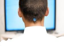 Control del cerebro Imagen de archivo libre de regalías