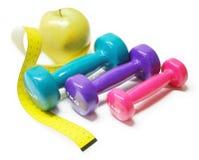 Control del peso corporal Foto de archivo libre de regalías