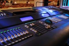 Control desk Stock Photos