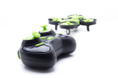 Control drone green Royalty Free Stock Photo