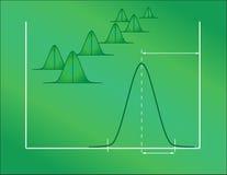 Control estadístico Imagen de archivo libre de regalías