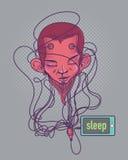 Control móvil del ser humano libre illustration