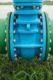 Control main valve, Water control main valve, Pipeline distribut Stock Images