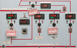 Control panel Royalty Free Stock Photo