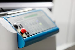 Control panel Royalty Free Stock Images