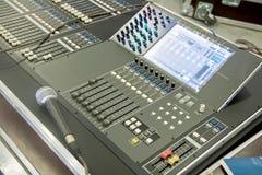 Control panel Stock Image