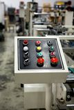 control panel Στοκ Φωτογραφία
