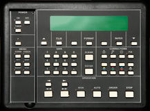 Control panel. Mini photo laboratory control panel Royalty Free Stock Photography
