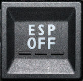 Control panel button Royalty Free Stock Photos